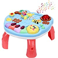 Baby Musical Learning Table, Early Education Activity Toys, Great Gift For Kids & Toddlers, Toy for Boys & Girls