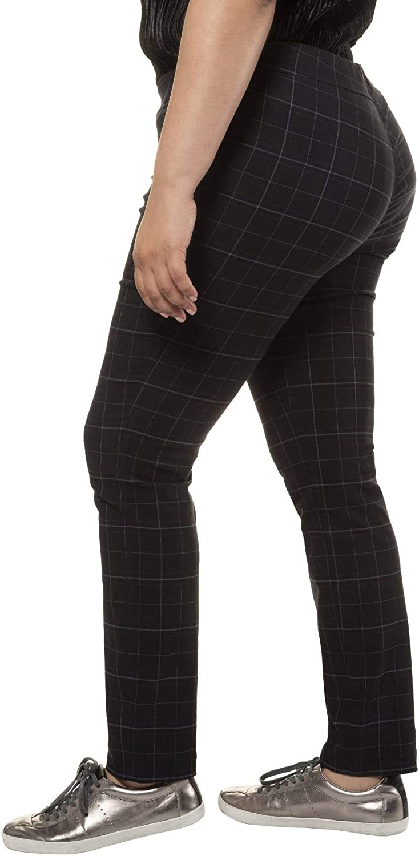 Ulla Popken Bengalinhose Slim Sienna Pantalones para Mujer