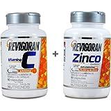 Vitamina C 1000mg + Zinco Quelato 30mg - 60 cápsulas - Nutrends