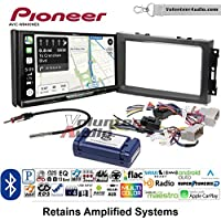 Volunteer Audio Pioneer AVIC-W8400NEX Double Din Radio Install Kit with Navigation, Apple CarPlay and Android Auto Fits 2007-2008 Ram, 2006-2007 Chrysler 300