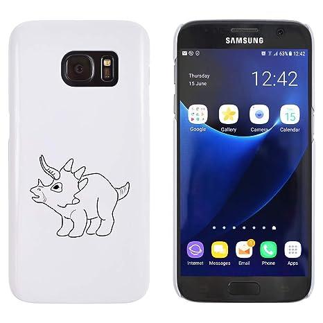 Azeeda Blanco Bebé Dinosaurio Funda / Carcasa para Samsung ...