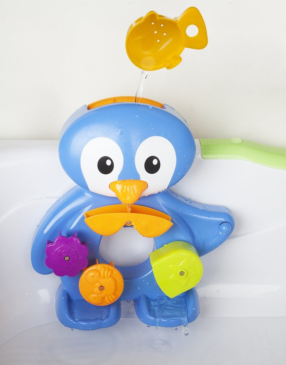 Amazon.com: Bath Toys For Toddlers By ZIG ZAG KID - Fun Penguin ...