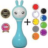 Alilo Intelligente Babyrassel Rassel Baby Smart Bunny R1 (Blau)