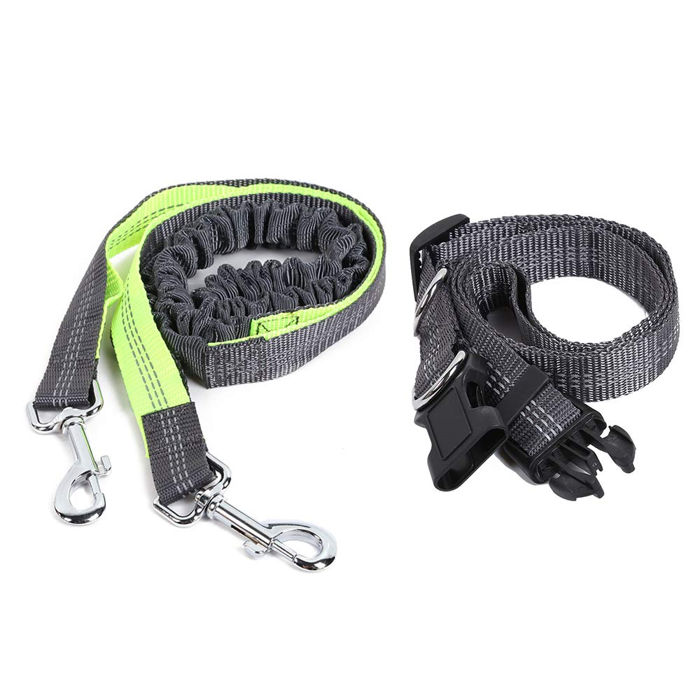 Green Happylife11 Adjustable Nylon Pet Dog Traction RopNylon- Training Leash,Dog Traction Rope Small Dogs,Great Dog Training,Play,Camping Backyard. (Green)