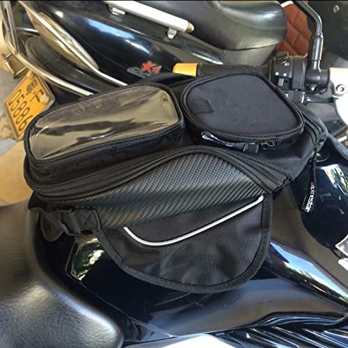 Niree Motorcycle Accessories Oil Fuel Tank Bag Magnet Pack MotoGear For GPS Or Cell Phone Waterproof Bag for Honda CBR1100XX BIRD ST1300//ST1300A VFR800