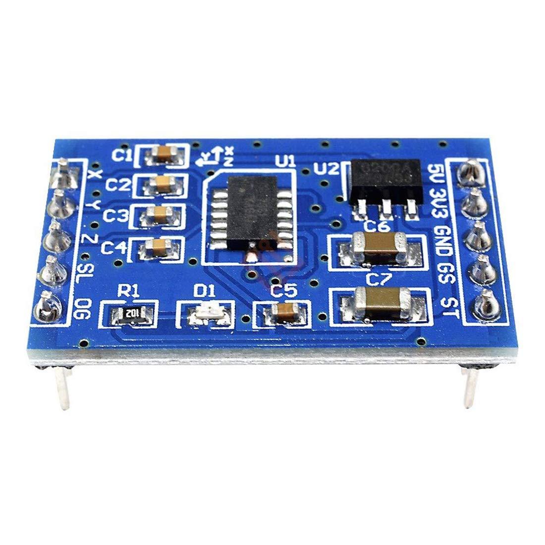 Hailege MMA7361 Triple Axis Accelerometer Acceleration Sensor Module for Arduino