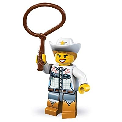 Lego Series 8 Cowgirl Mini Figure: Toys & Games