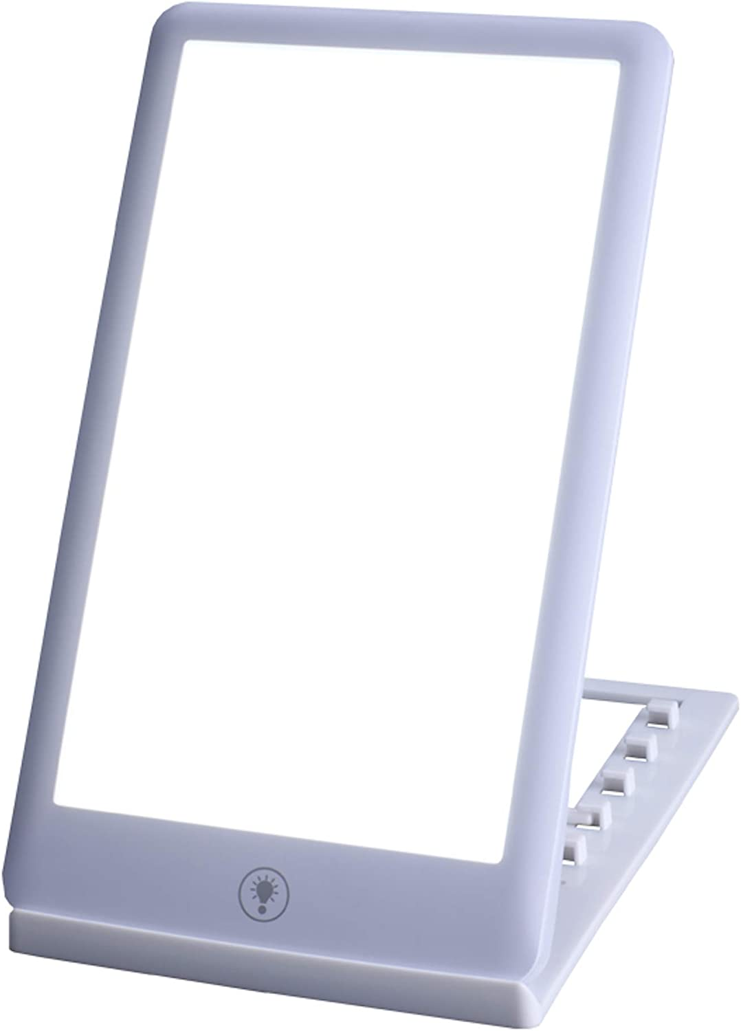 Light Therapy Lamp Box Device by MediRevive -30,000 Lux Ultra Bright Full-Spectrum White LED Lights