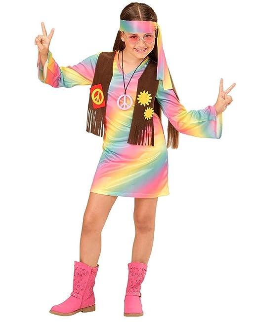 super popolare design innovativo ultime tendenze del 2019 Costume Carnevale Bambina Hippie Anni 60 PS 26177 Figli Dei ...