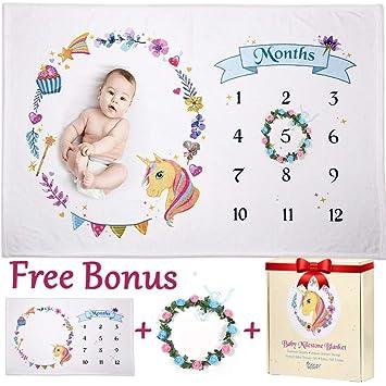 Monate Jahre Fotoaufnahmen Requisiten Baby Kleinkind Meilenstein Decke Tage