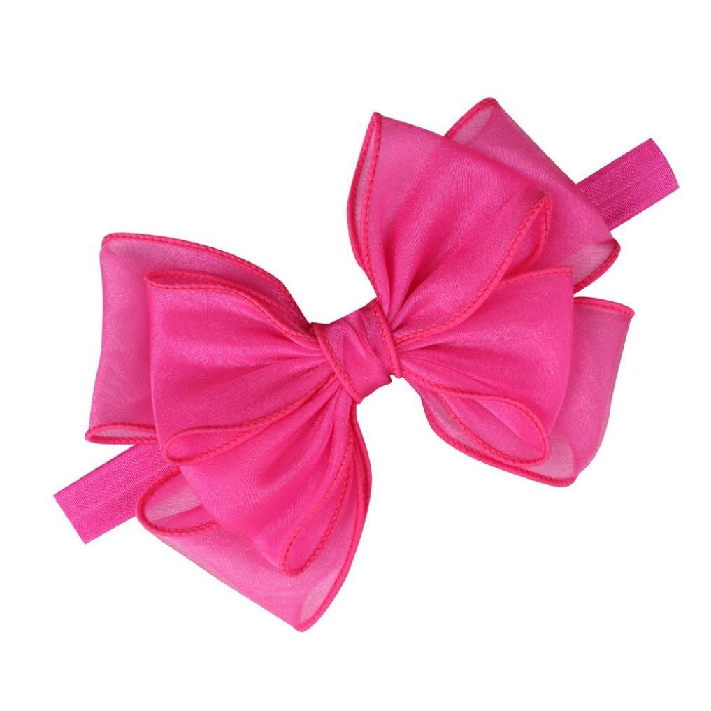 BZLine/® Mode Infantile Headwear b/éb/é Mignon Bandeau-Bande de Cheveux Arc Accessoires de Cheveux-0 Mois /à 5 ans-37 1.5 cm-Mesh