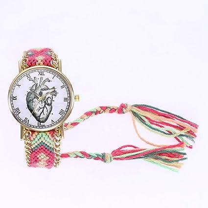Dilwe Reloj para Mujer, Reloj Exclusivo con Estuche de Lana ...