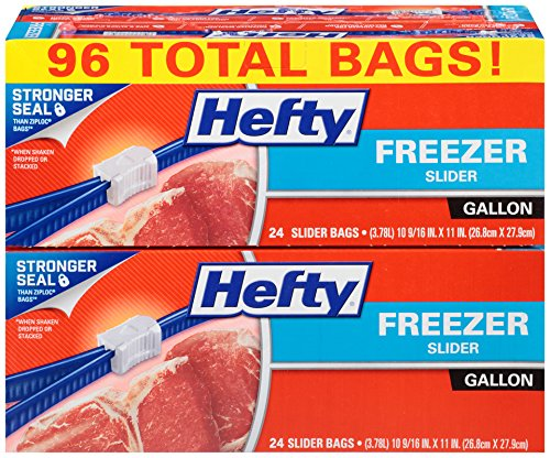 Hefty Slider Freezer Gallon Count product image