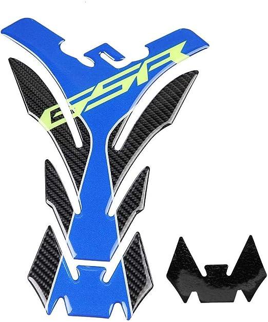 Yctze Motorrad Tank Aufkleber Real Carbon Fiber Motorrad Heizöl Gas Tank Pad Protector Aufkleber Aufkleber Tq008 Auto