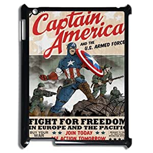 IPad 2,3,4 Cell phone case for Classic movies Captain America Theme pattern design GCMCAT0998044