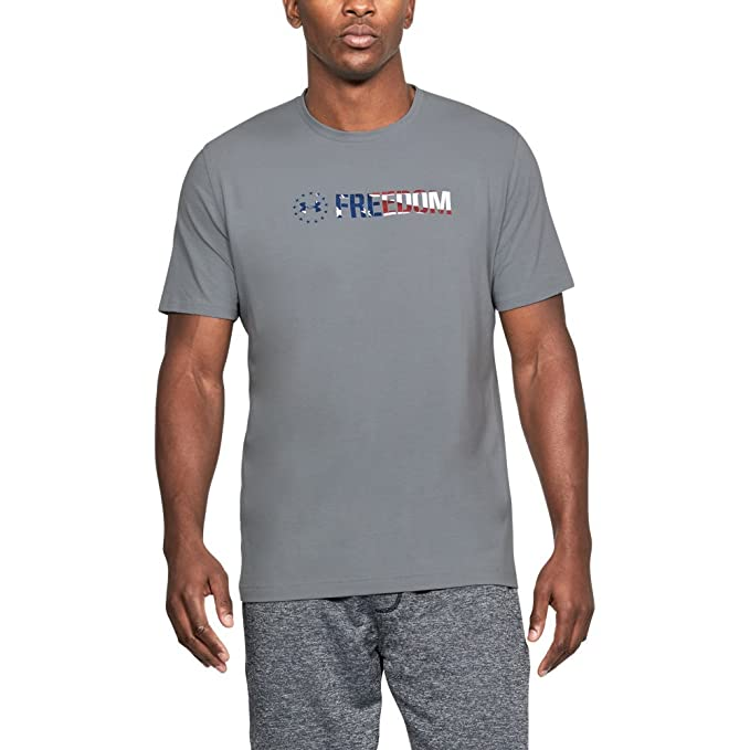 d2f2a037 Under Armour Men's Freedom Chest T-Shirt