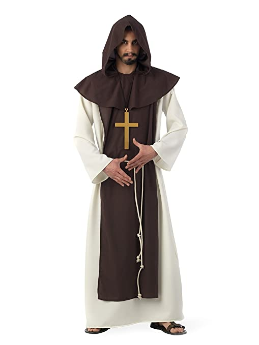 Limit Sport - Disfraz de monje cisterciense medieval, para adultos, talla M (MA225)