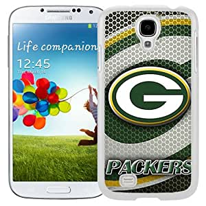 Durable Galaxy S4 Case Design with Green Bay Packers 3 White Phone Case for Samsung Galaxy S4 SIV S IV I9500 I9505