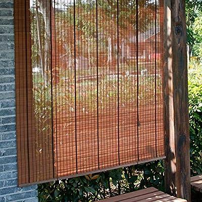 Persiana de bambú Las Cortinas del Rodillo del Jardín Al Aire Libre, Persianas Enrollables De Bambú