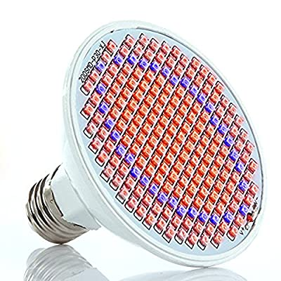 Kyson 12W LED Grow Light Lamp,5730SMD,200LEDs,132red/68blue, for Greenhouse Flowering Plant and Hydroponics System