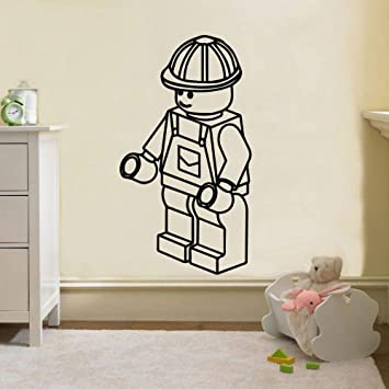 LSMYM Cute Wall Sticker Vinyl Wall Decals para habitaciones de ...