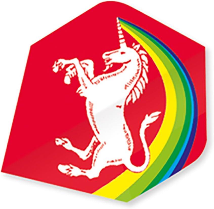 Einheitsgr/ö/ße Gunn /& Moore Core 75 Plus Unicorn Rainbow Flug Mehrfarbig