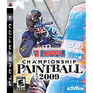 NPPL Championship Paintball 2009 - Playstation 3