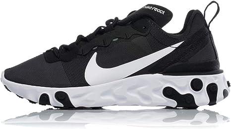 Nike W React Element 55 Zapatillas de Running, Mujer: Amazon.es: Deportes y aire libre