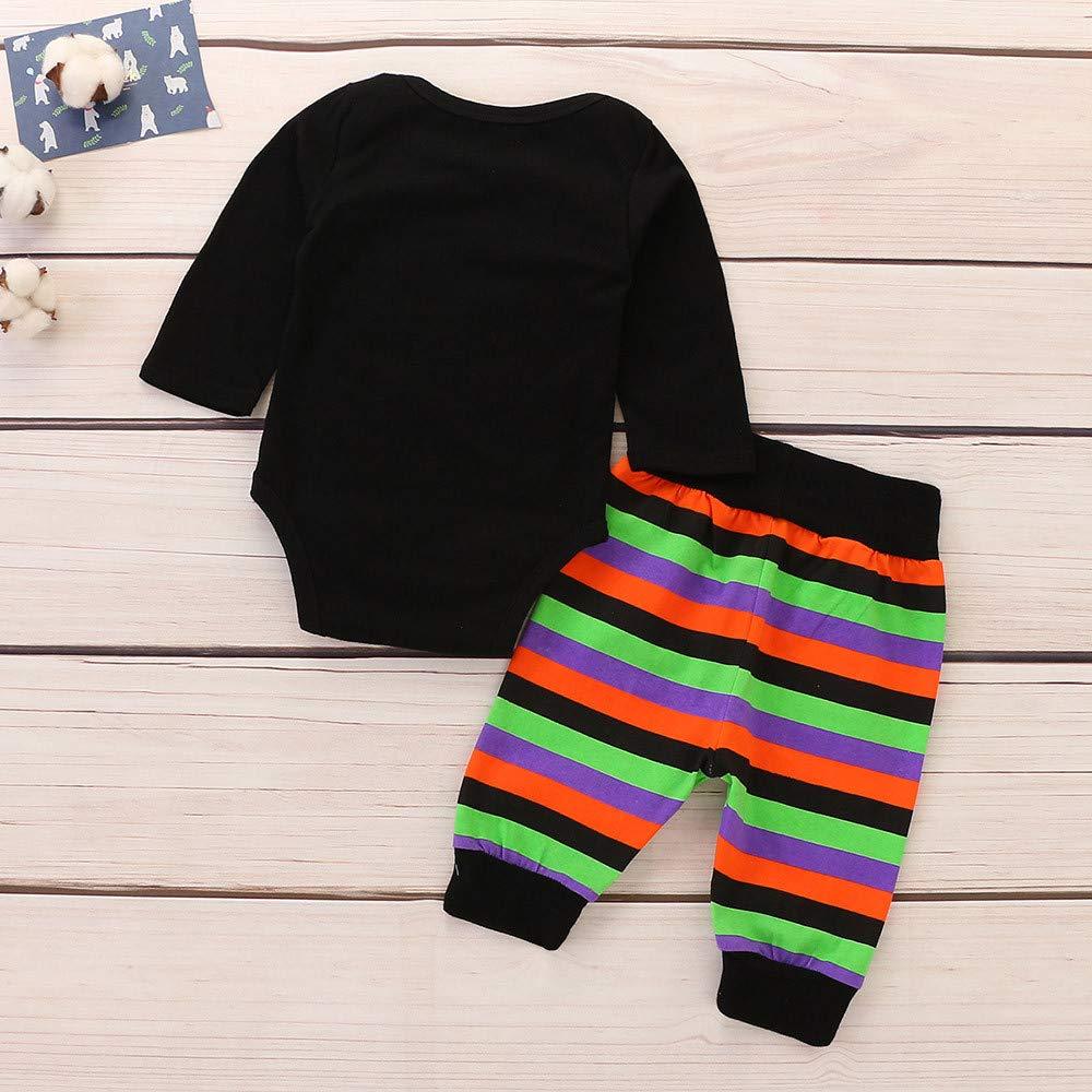 a805b7e22 Amazon.com  Baby Boys Girls Letter Romper My 1st Halloween Bodysuit ...