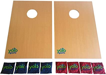 Yolo Sports Game Cornhole Bean Bag Toss Tailgating Game