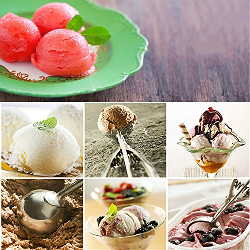 6CM 1Pcs Stainless Steel Ice Cream Spoon Mash Potato Scoop Watermelon Spoon Cooking Tools Kitchen Accessories Kangsanli