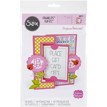 ec35059e9 Amazon.com  Sizzix 660714 Framelits Die Set Card