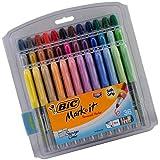 BIC GXPMP361ASST Marking Fine Tip Permanent Marker, Assorted Colors, 36/Set