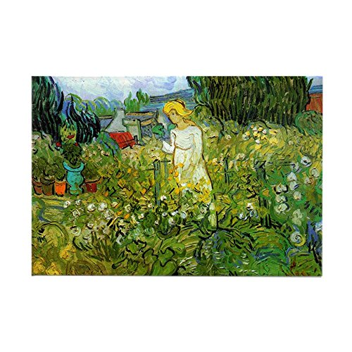Rectangle Garden Magnet (CafePress - Marguerite Gachet In The Garden - Rectangle Magnet, 2