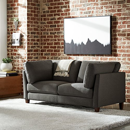 Rivet Midtown Mid-Century Modern Upholstered Sofa Couch, 68.5