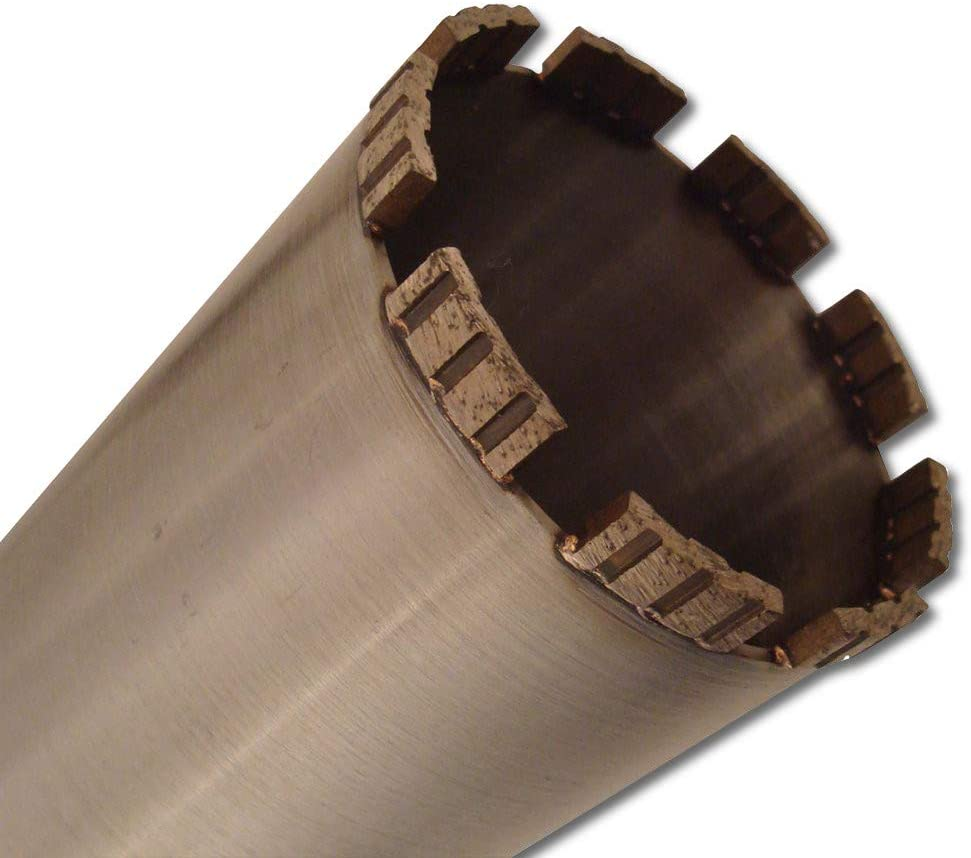 hormig/ón acero Corona de perforaci/ón de diamante para hormig/ón etc. mamposter/ía productos de hormig/ón Plateado NORDMANN NX-7