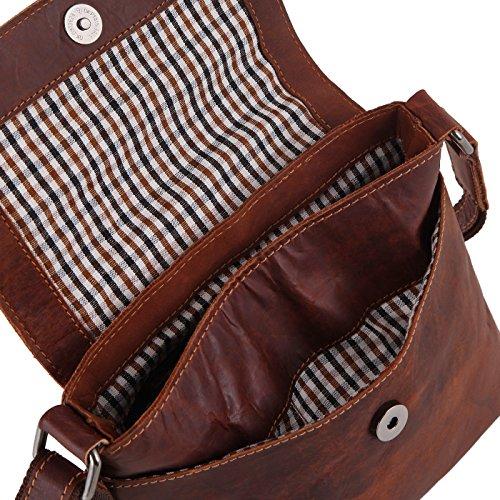 517d24f006f78 Rada Nature Umhängetasche Geelong echt Leder Handtasche in Verschiedenen  Farben (Dunkelbraun)  Amazon.de  Koffer