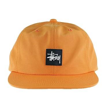 Stussy - Gorra de béisbol - para Hombre Naranja Naranja Talla ...