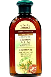 shampoing Bio 350 ml Green Pharmacy Cabello secas Argán y Granada