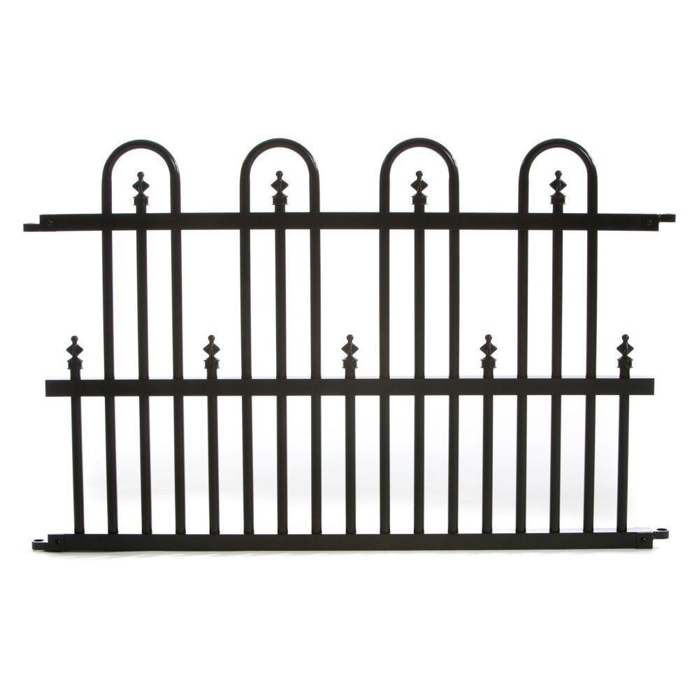 Amazon.com : Specrail Roxbury ROXBURY24SP Aluminum Garden Fence ...