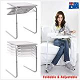 Laptop Foldable Table Tray Bed Portable Desk Mate TV Dinner Bed Sofa Adjustable