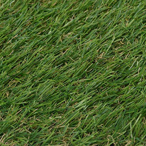 SKB Family Artificial Grass 6.6'x16.4'/0.8''-1'' Green Outdoor and Indoor Garden Wedding Plant Decor by SKB Family (Image #1)