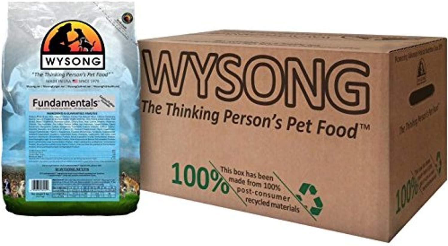 Wysong Fundamentals Canine/Feline Formula Dry Dog/Cat Food, Four, 5 lb. bags
