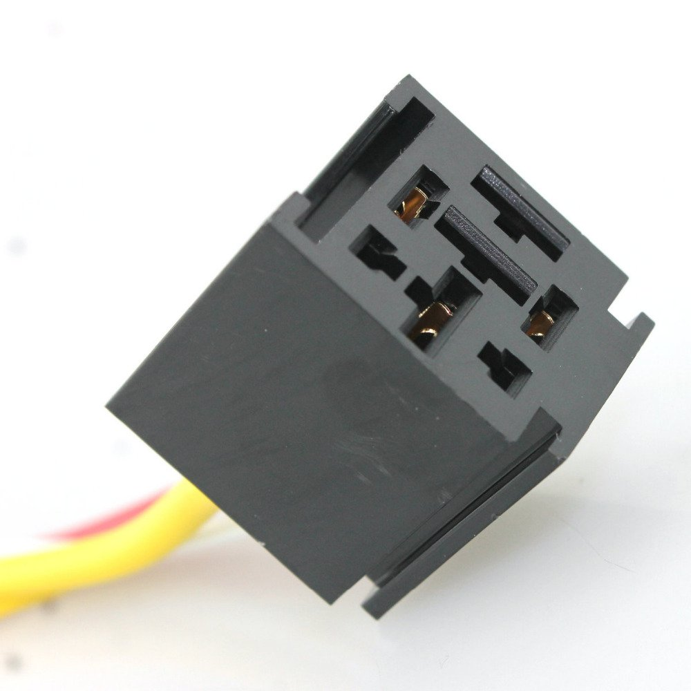 12V car Relay Socket Harness with 11AWG and 18AWG gauge wire/ Car relay socket harness 60A 70A 80A DRFLYSD