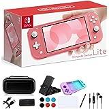 Nintendo Switch Lite – Pantalla táctil de 5.5 pulgadas, almohadilla de control Plus integrada – Paquete de juegos familiar va