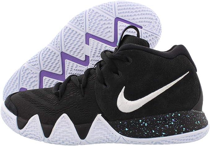 Nike Kids Preschool Kyrie 4 Basketball Shoes (Black/White,11K): Amazon.es: Deportes y aire libre