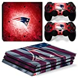 FriendlyTomato PS4 Pro Console and DualShock 4 Controller Skin Set - Football NFL - PlayStation 4 Pro Vinyl