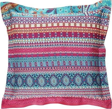 Cuscini Color Turchese.Bassetti Burano Cuscino Decorativo 65 X 65 Cm Colore Turchese