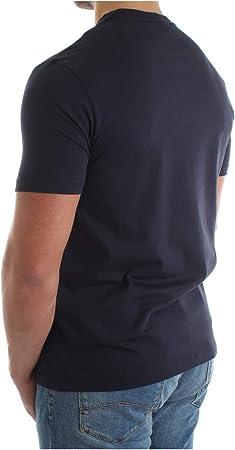 Emporio Armani Hombre Camiseta BLU Navy