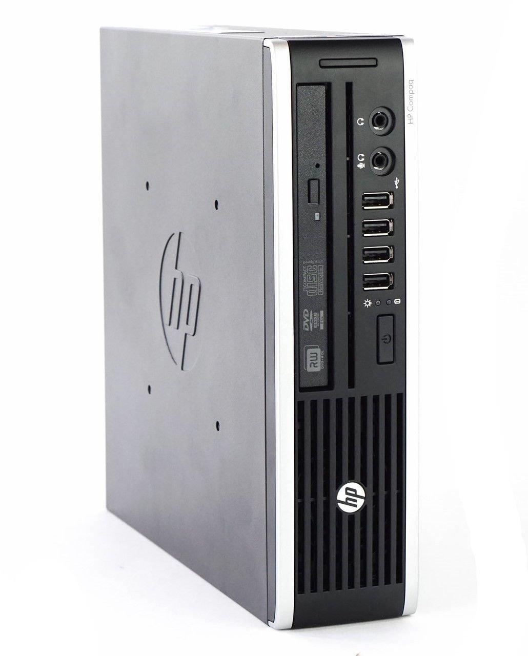 HP Elite 8200 Ultra Slim Desktop PC - Intel Core i5-2400S 2.7GHz 8GB 128GB SSD Windows 10 Professional (Renewed)